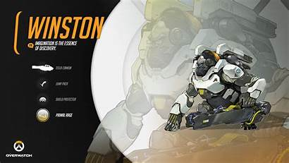 Overwatch Winston Games Blizzard Wallpapers Entertainment Hero