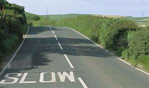 REVEALED: White lines on roads might soon become a thing ...