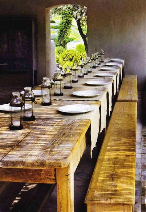 rustic outdoor dining table 52 best farmhouse dining images on pinterest perfectly