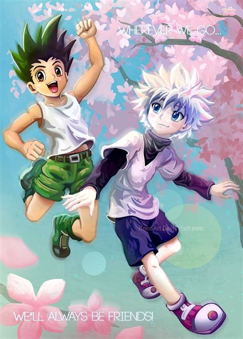 tags hunter  hunter killua zoldyck gon freaks