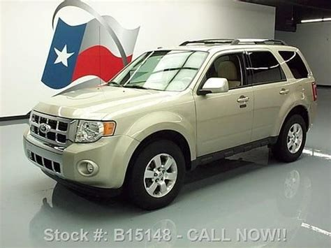 2011 Ford Escape Ltd by Sell Used 2011 Ford Escape Ltd Sunroof Nav Rear Htd