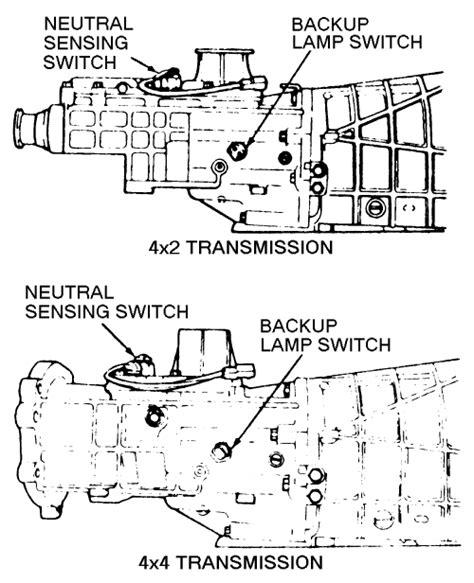 Repair Guides Manual Transmission Neutral Sensing