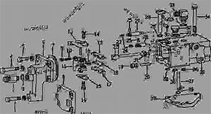 Selective Control Valve  03e19  - Tractor John Deere 4020 - Tractor - 4020  S N