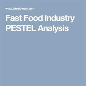 Food Industry Resume Fast Food Industry Pestel Analysis Pestel Analysis Food