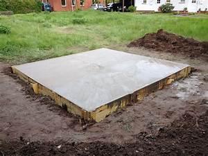 Estrich Im Außenbereich : estrich beton f r au en fundament mischungsverh ltnis zement ~ Markanthonyermac.com Haus und Dekorationen