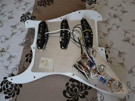 Fender Vintage Noiseles Wiring Diagram by Fender Vintage Noiseless Telecaster Neck 3 Wires
