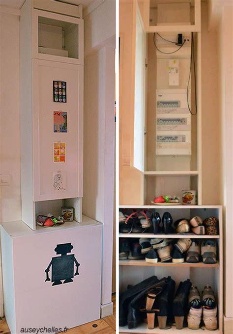 etagere de cuisine ikea inspiration hacks de meubles ikea un cache compteur