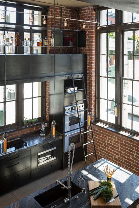 industrial style inspiring lighting ideas   kitchen