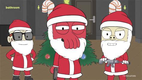 moving santa claus vanoss gaming animated santa claus vs the grinch gmod prop hunt moments