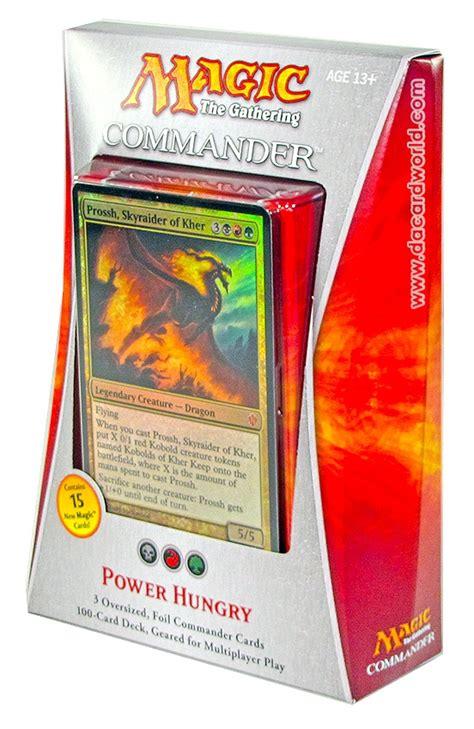 Mtg Commander Deck Box by Magic The Gathering Commander Deck Box 2013 Da Card World