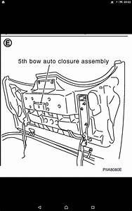 350z Roadster - Manual 5th Bow Latch Release