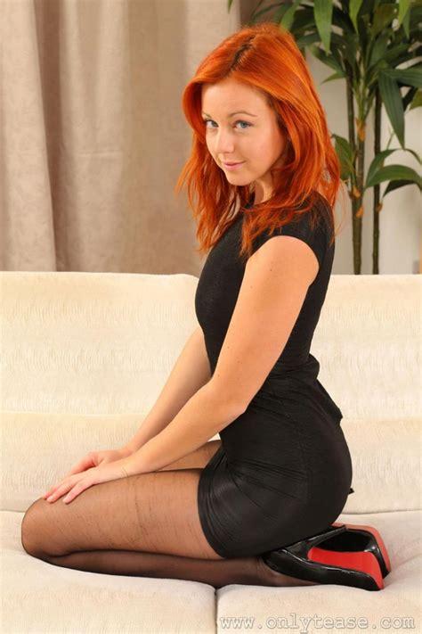 Elen Moore In Black Pantyhose