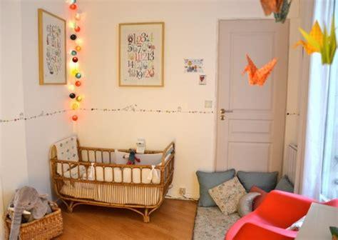 guirlande chambre bebe chambre bébé on mise sur la guirlande lumineuse