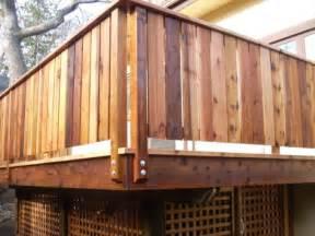 privacy deck railing ideas pinterest