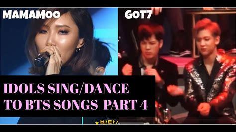 kpop idols singingdancing bts songs