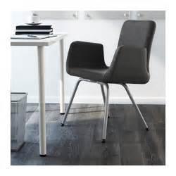 patrik conference chair ullevi dark grey ikea