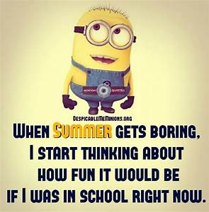 Top 10 Funny Summer Quotes - Minion Quotes