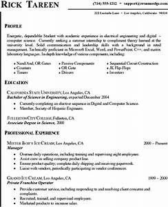 Computer science resume templates samplebusinessresume for Computer science resume template
