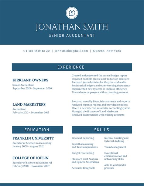 Canevas Cv by Free Resume Builder Design A Custom Resume In Canva
