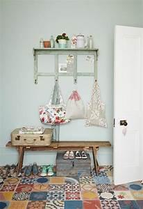comment adopter le carrelage patchwork a son interieur With porte d entrée pvc avec carreaux céramique salle de bain