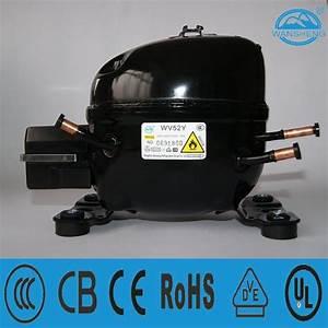 China R600a Piston Refrigeration Compressor Wv52y