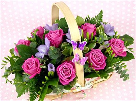 best gift basket send a flower basket for uk flower delivery from clare