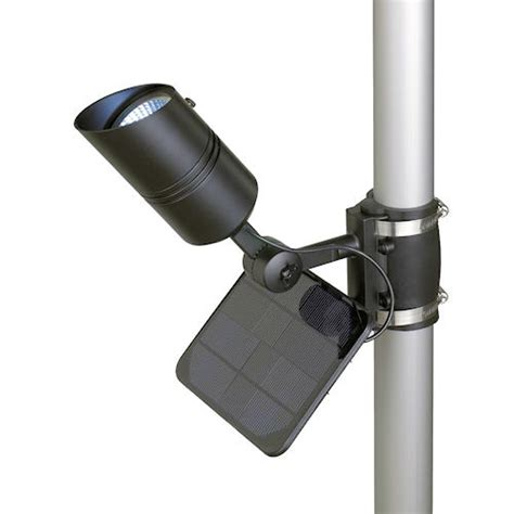 commercial grade solar flag light solar flagpole light