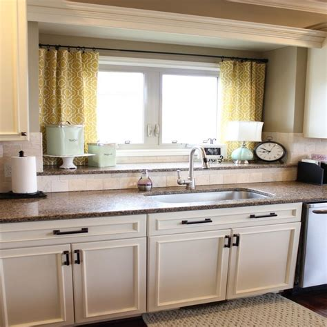 Curtain Ideas For Kitchen Sink Window Curtain