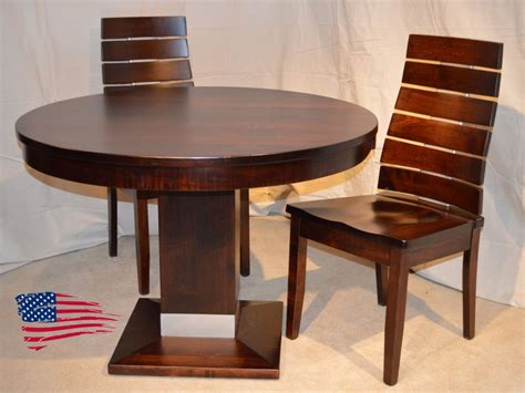 amish alcoe dining table and chair jasen s
