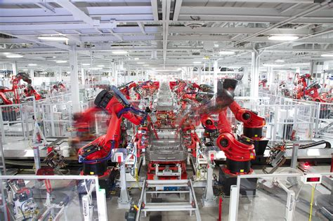 View Tesla 3 Model Production Pictures