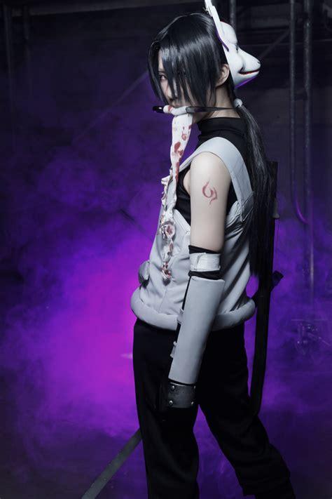 Itachi Uchiha Anbu Version Of Naruto World Anime Cosplayer