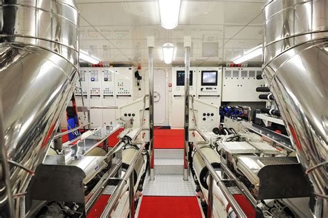 Yacht Engine Room by A2 Yacht Engine Room Yacht Charter Superyacht News