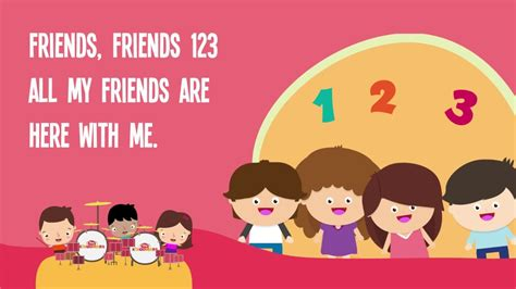 friends friends 123 song for with lyrics 722 | maxresdefault