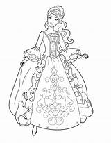 Coloring Pages Dresses Fancy Pretty Pa Getcolorings Printable sketch template