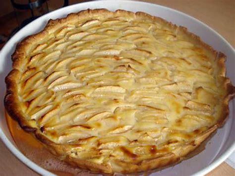 tarte pate feuillete creme patissiere recette de tarte aux pommes 192 la cr 200 me patissi 200 re