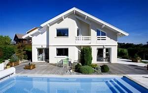maison moderne en bois avec piscine chaioscom With maison bois avec piscine