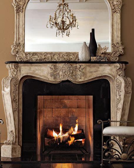 ambella french fireplace mantel