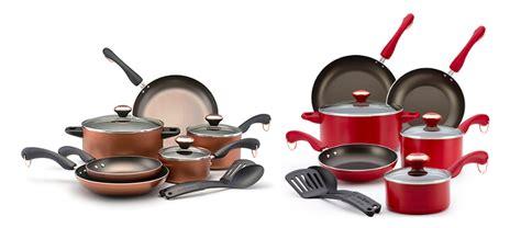hot paula deen  piece cookware sets