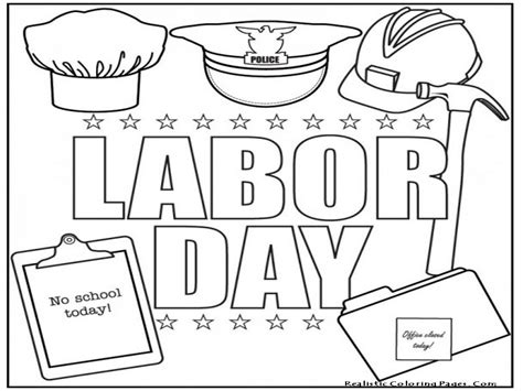 Labor Day Printables Labor Day Coloring Pages Flag