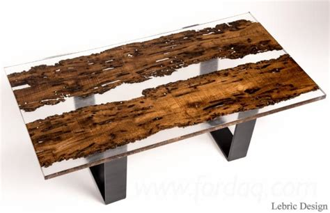 resin partners home design wood table and epoxy resin