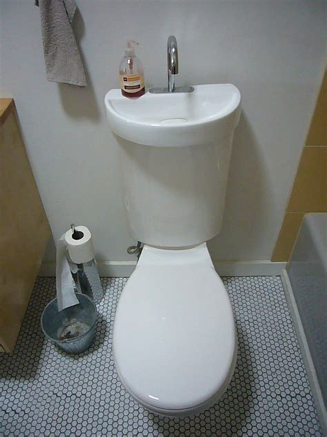 toilet and sink in one toilet sink combo ideas that help you stay green