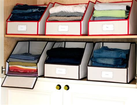 sweater bins contemporary closet organizers by great