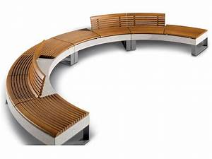 Curved Bench Design PDF Woodworking