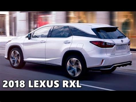 lexus rxl  row suv walkaround highlights
