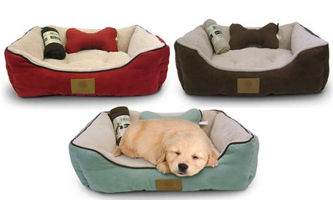 Akc Pet Bed Set With Pillow And Blanket Baby Cashmere Blanket Uk Sunbeam Electric Dual Control Not Working Blankets And Beyond Pink Rosette Bunny Korean Mink Queen Size Handmade Wool Saddle New Zealand Welsh Wamsutta Acrylic Thermal