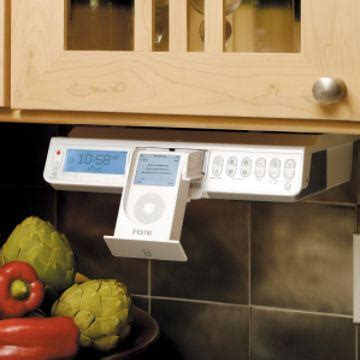 ihome cabinet kitchen system ih36 ihome ipod counter kitchen clock 7431