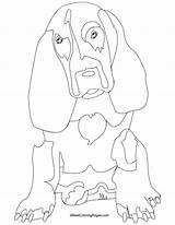 Coloring Pages Hound Basset Bloodhound Getcolorings Eminem Gremlins Adult Dog Printable sketch template