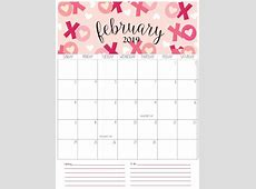 February Canada 2019 Holiday Calendar February 2019