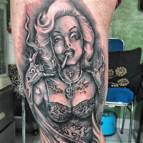 marilyn monroe tattoo designs meanings