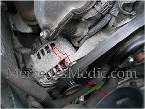 How To Replace Alternator On A Mercedes Benz E C Clk Slk S
